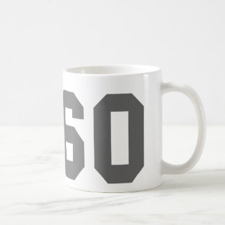 Since 1960 classic white coffee mug