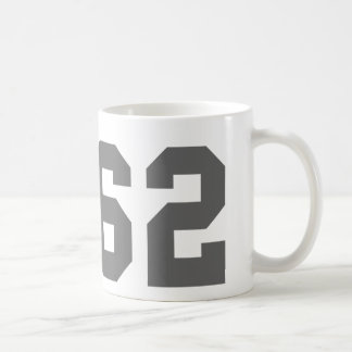 Since 1962 classic white coffee mug