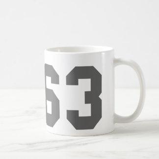 Since 1963 classic white coffee mug
