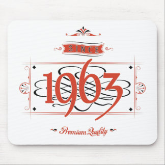 Since 1963 (Red&Black) Mouse Pad