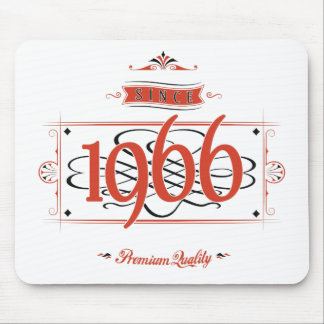 Since 1966 (Red&Black) Mouse Pad
