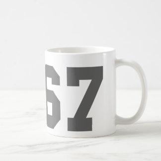 Since 1967 classic white coffee mug