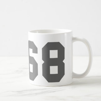 Since 1968 classic white coffee mug