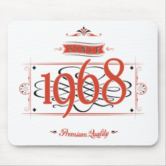 Since 1968 (Red&Black) Mouse Pad