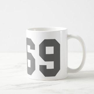 Since 1969 classic white coffee mug