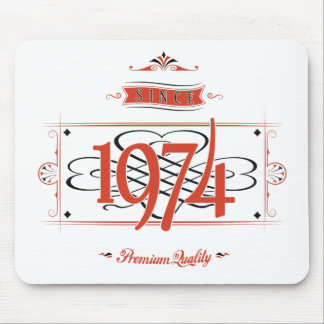 Since 1974 (Red&Black) Mouse Pad