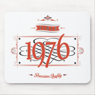 Since 1976 (Red&Black) Mouse Pad