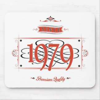 Since 1979 (Red&Black) Mouse Pad