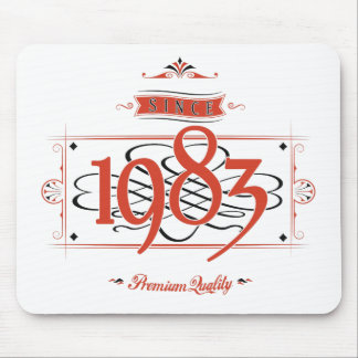 Since 1983 (Red&Black) Mouse Pad