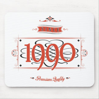 Since 1990 (Red&Black) Mouse Pad