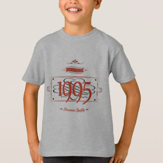 Since 1995 (Red&Black) T-Shirt
