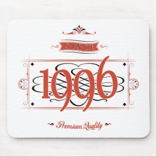 Since 1996 (Red&Black) Mouse Pad