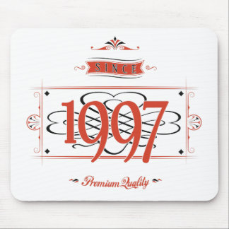 Since 1997 (Red&Black) Mouse Pad