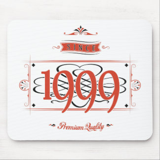 Since 1999 (Red&Black) Mouse Pad