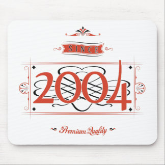 Since 2004 (Red&Black) Mouse Pad