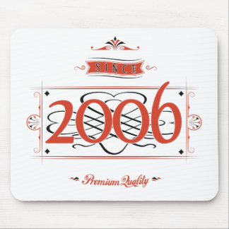 Since 2006 (Red&Black) Mouse Pad