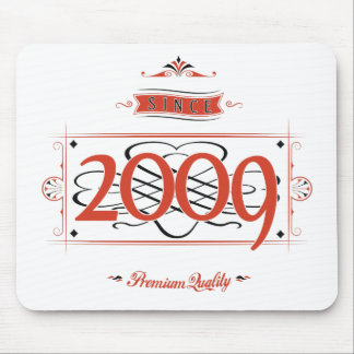 Since 2009 (Red&Black) Mouse Pad