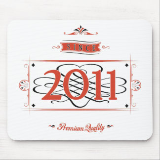 Since 2011 (Red&Black) Mouse Pad