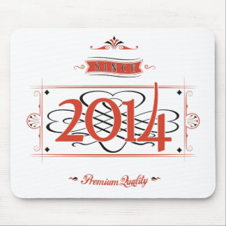Since 2014 (Red&Black) Mouse Pad