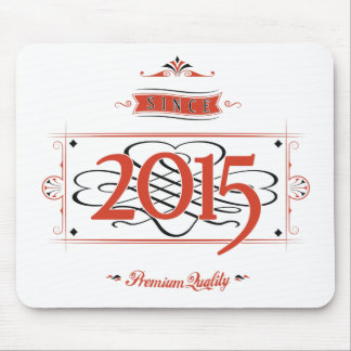Since 2015 (Red&Black) Mouse Pad