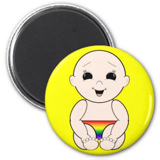 Since Birth 3r 2 Inch Round Magnet