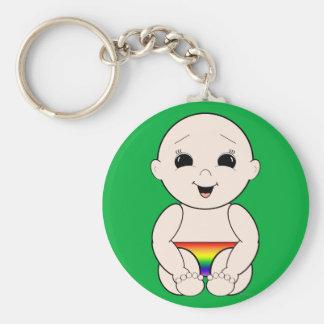 Since Birth 3r Keychain