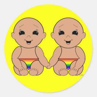 Since Birth 6r Classic Round Sticker