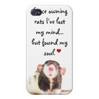 Since Owning Rats... iPhone 4/4S Covers
