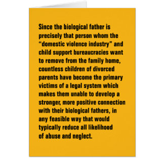 Since The Biological Father Is Precisely … Card