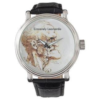 Sinceramente el reloj de los hombres de Leonardo