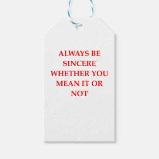 SINCERE GIFT TAGS