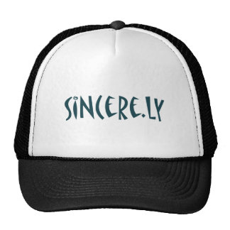 sincere.ly mesh hat