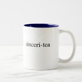 Sinceri-tea Tea Cup Two-Tone Coffee Mug
