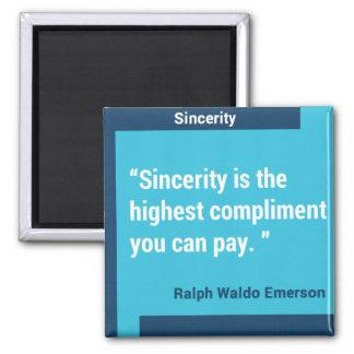 Sincerity Custom Magnet