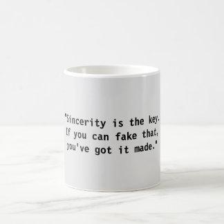 Sincerity / Fake That mug