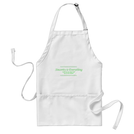 sincerity_green adult apron
