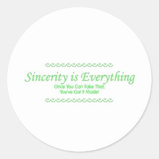 sincerity_green pegatina redonda