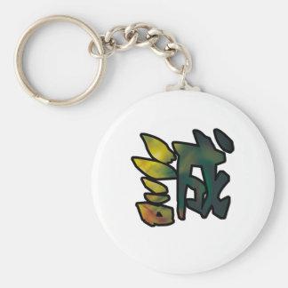 sincerity kanji keychain