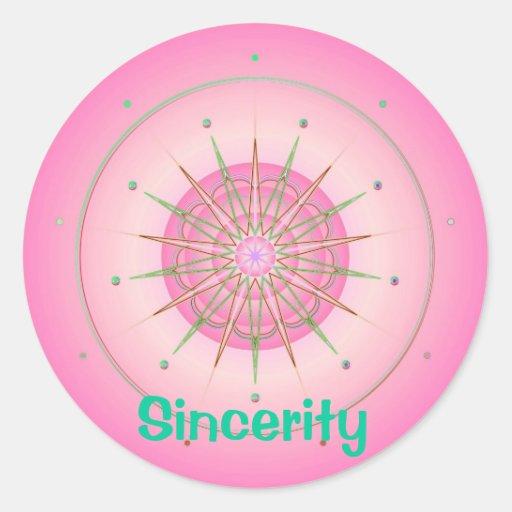 Sincerity (Virtue sticker)