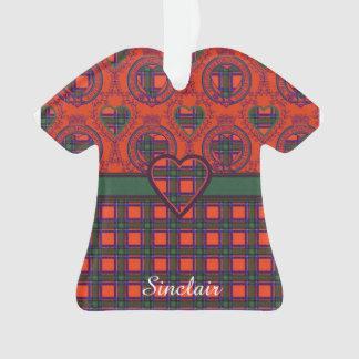 Sinclair clan Plaid Scottish tartan