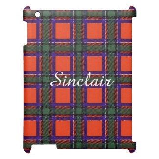 Sinclair clan Plaid Scottish tartan iPad Cover