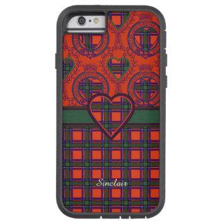 Sinclair clan Plaid Scottish tartan Tough Xtreme iPhone 6 Case