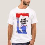 Sinclair Lewis Liberty 1937 WPA T-Shirt
