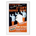 Sinclair Lewis Play 1937 WPA Card