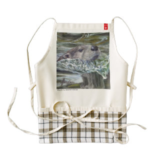 Sinclair Wildlife HEART Otter apron
