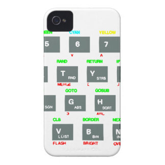 Sinclair ZX Spectrum Keyboard Keys Case-Mate iPhone 4 Cases