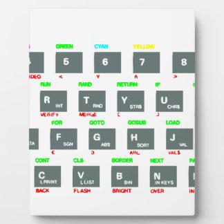 Sinclair ZX Spectrum Keyboard Keys Display Plaques