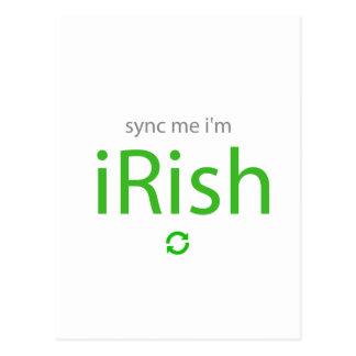 Sincronización yo soy iRish.png Postales