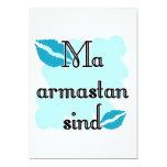 Sind armastan del mA - estonio - te amo Invitaciones Personales