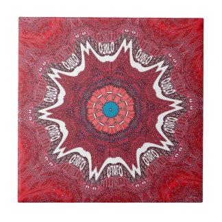 Sind pattern.jpg tribal étnico azulejo cuadrado pequeño